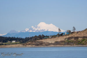 Mount Baker from Whidbey Island - Orca Spirit